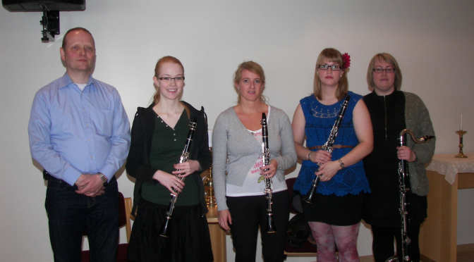 Tónleikar Klarinettukvartetts
