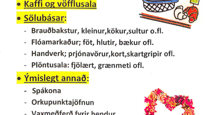 Vormarkaður á Höfða