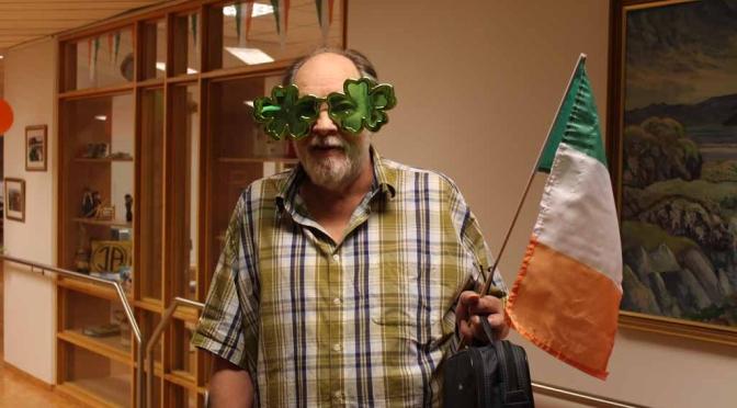 Haldið upp á Írska daga